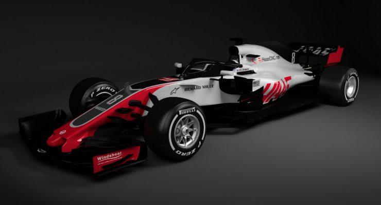 Haas Unveil 2018 Car