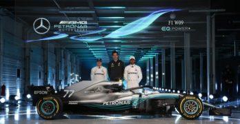 Ferrari and Mercedes Launch 2018 Cars